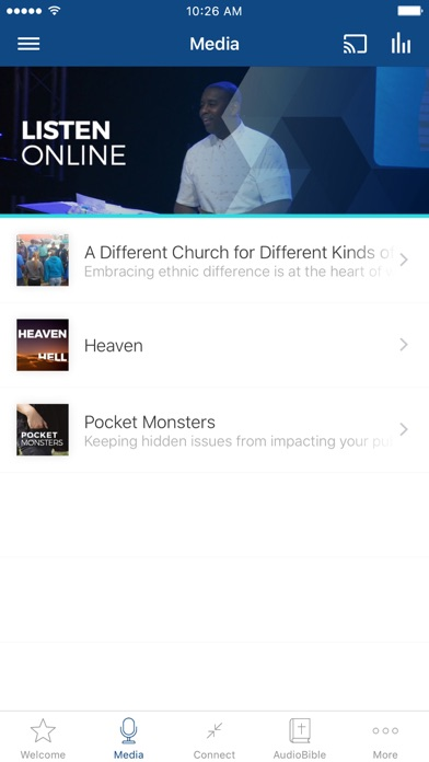 City of Light Church App screenshot two