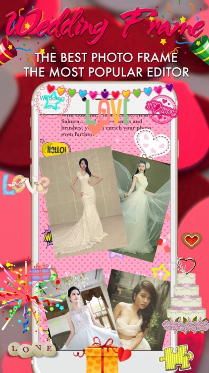 Wedding Photo Frame - WonderPhoto - Photo Editor screenshot-3