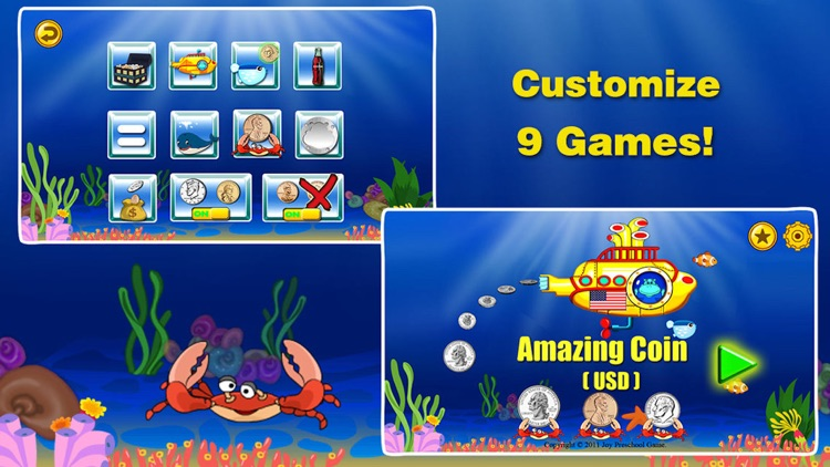 Amazing Coin(USD)- Money learning & counting games screenshot-0