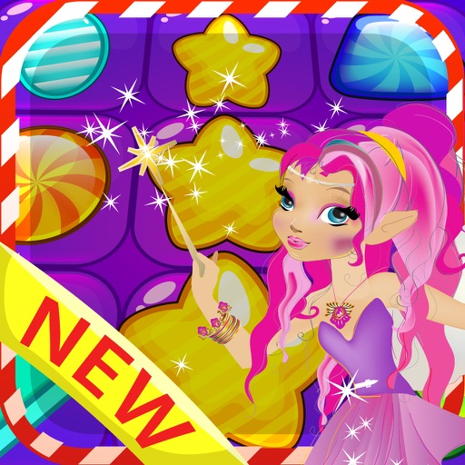 Candy Fantasy Match 3 - Story best puzzle game
