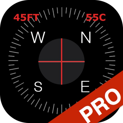 Compass Pro - True North Orienteering and Heading