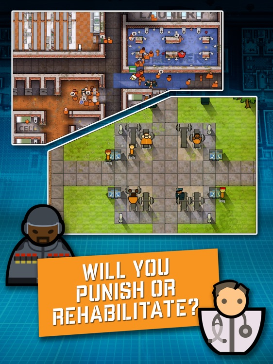 Prison Architect: Mobile screenshot-3