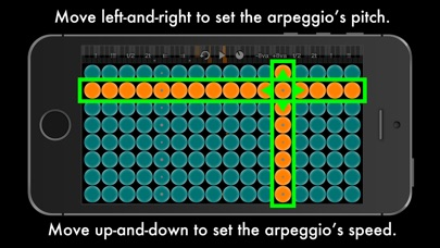 Screenshot #3 pour Arpeggionome for iPhone | matrix arpeggiator