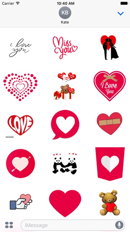 Loves Stickers