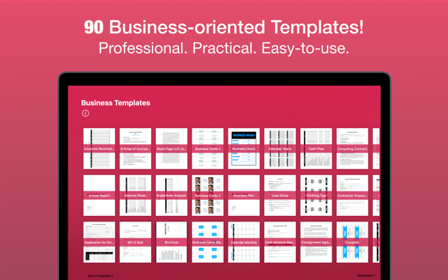 Business templates for pages on the mac app store screenshots cheaphphosting