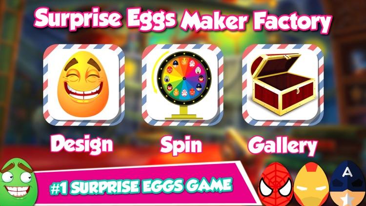 Surprise Eggs Factory - Spin Wheel of Surprise egg screenshot-3