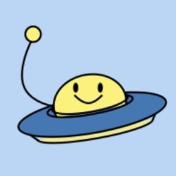Kawaii UFO MOJI