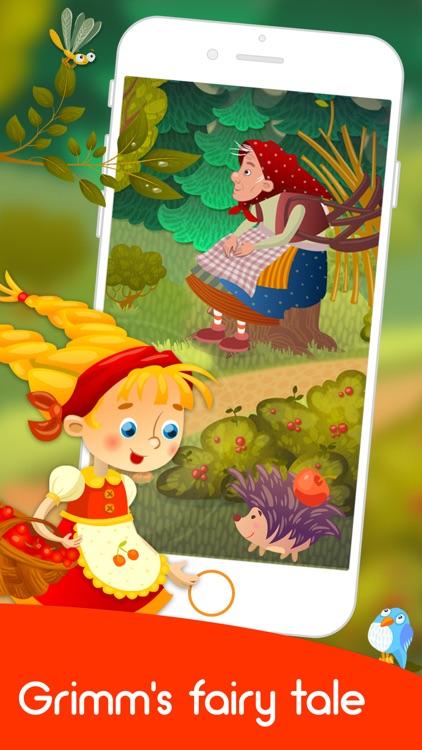Sweet Porridge kids fairy tale