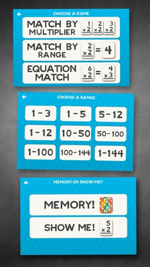 Multiplication Flash Cards Games Fun Math Practice on the