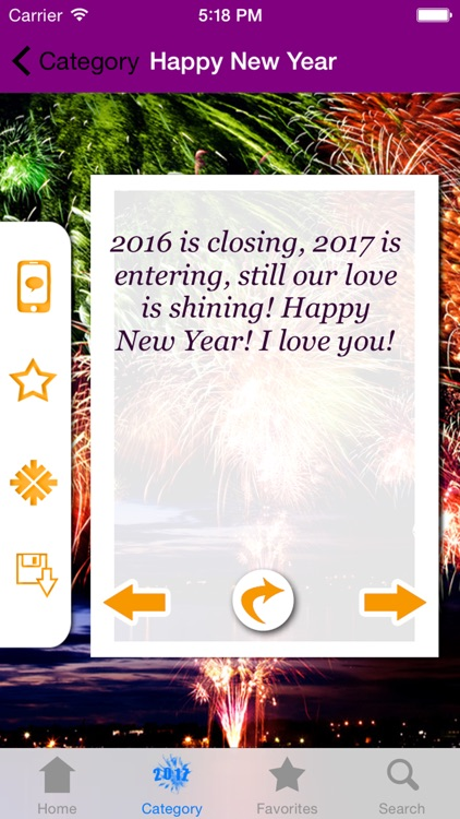 Happy New Year 2017 - Greetings, Quotes & Wishes screenshot-1