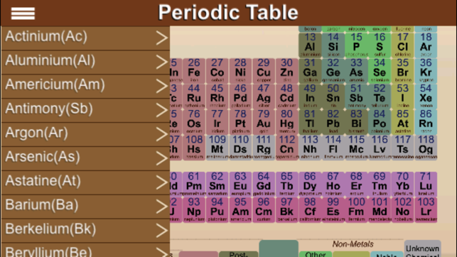 Periodic table on the app store urtaz Choice Image