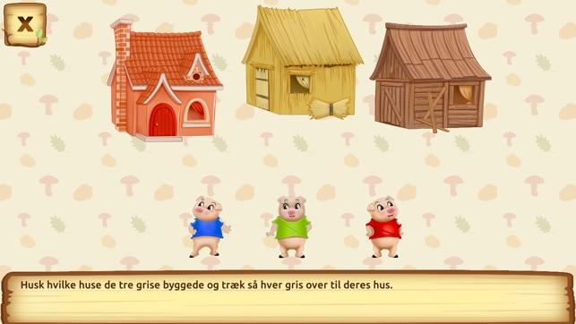 de tre små grise eventyr dansk