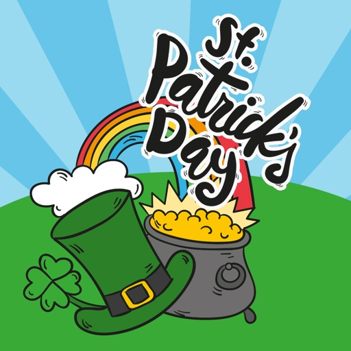 St Patrick's Day Animated Stickers by APPBUBBLy