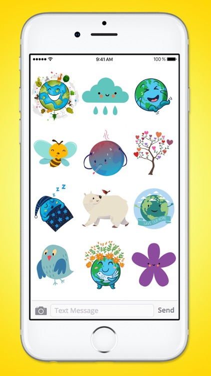 The Cutest Earth Day Sticker Pack screenshot-3