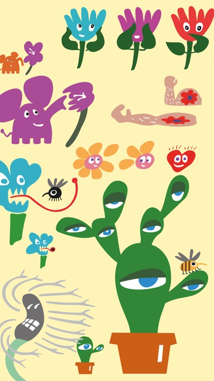 Loony Blooms animated