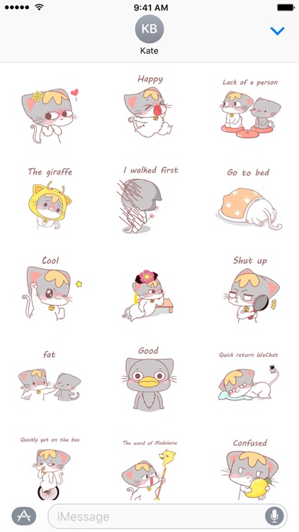 So Cute - NHH Animated Stickers