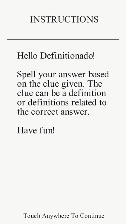 Definitionado - Meanings, Idioms, Riddles, Trivia