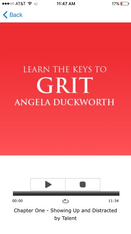 Grit by Angela Duckworth - Meditation Audiobook screenshot-3