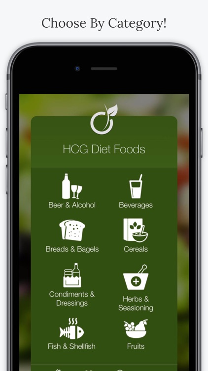 HCG Diet Foods screenshot-1