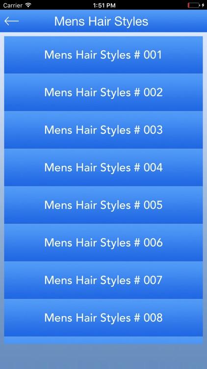 Hair Styles For Mens screenshot-4