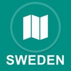 Sweden : Offline GPS Navigation icon