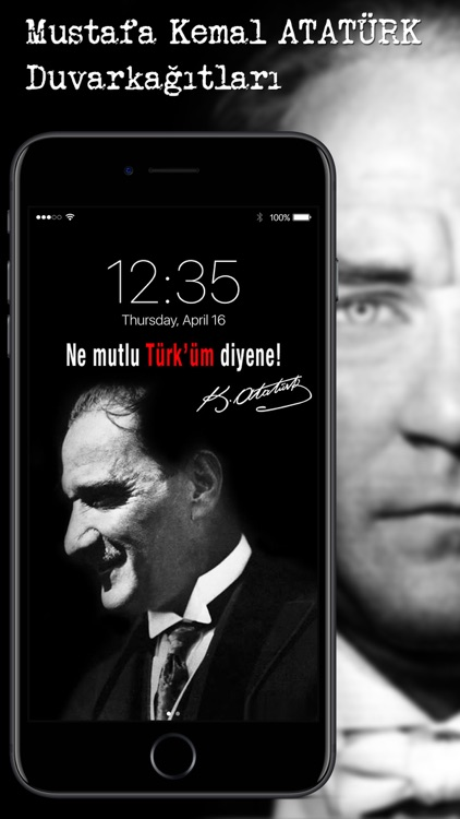 Atatürk Wallpapers & Lock Screens screenshot-4