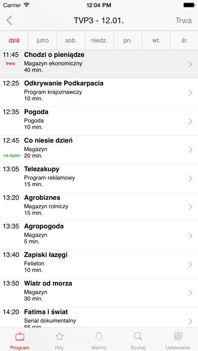 Program TV Telemagazyn screenshot two