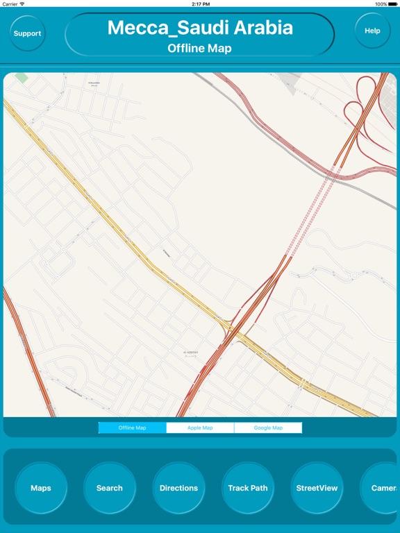 Mecca Saudi Arabia Offline Map Navigation | App Price Drops