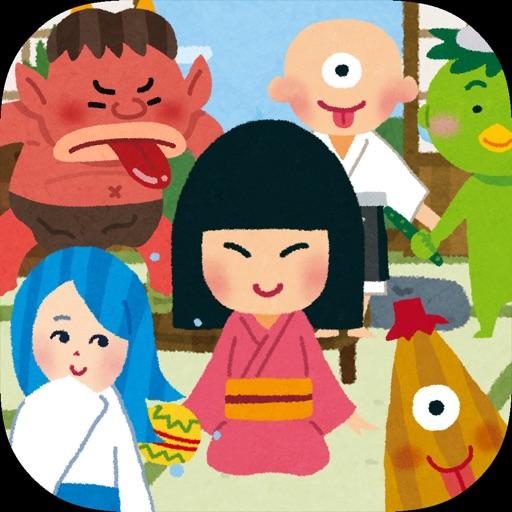Yokai touch for kids app