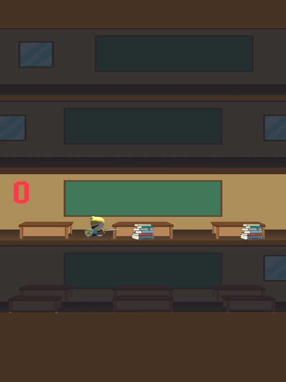 High School Student Rush Pro - speed floor jumper screenshot 4