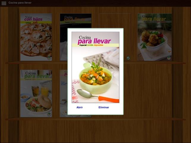 Cocina para Llevar en App Store