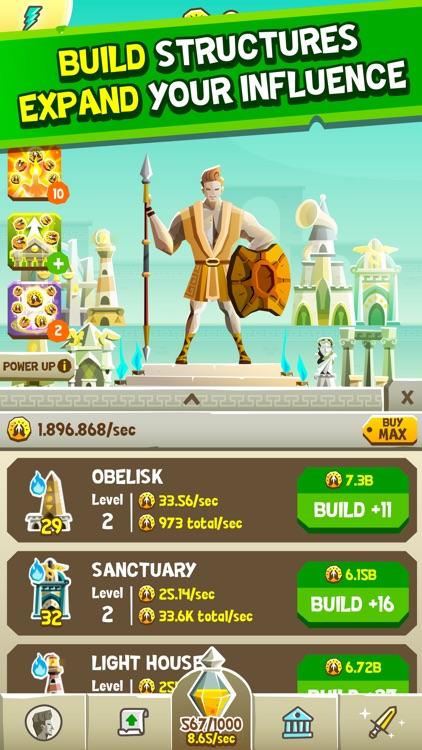 Almighty: Fantasy Clicker Game! screenshot-4
