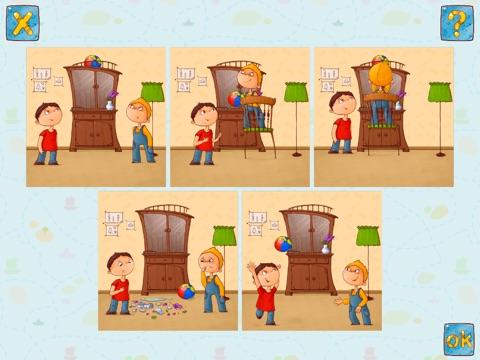 Скачать игру Расскажи историю - игра на развитие речи для детей