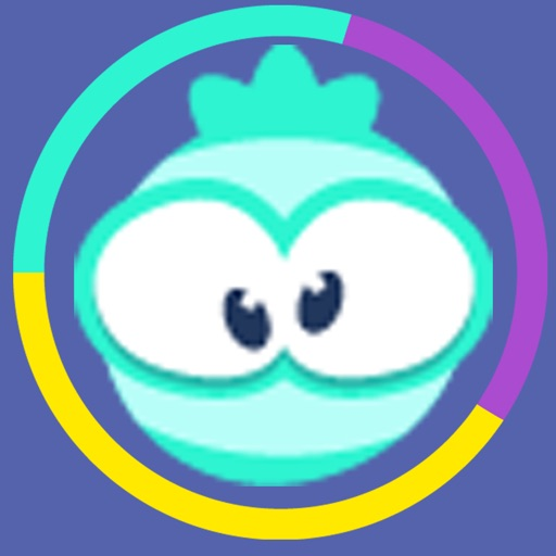 Color Cartoon Ball: Spinny Switch Edition