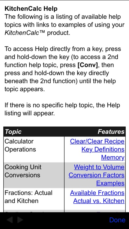 KitchenCalc Pro Culinary Math & Recipe Calculator screenshot-3