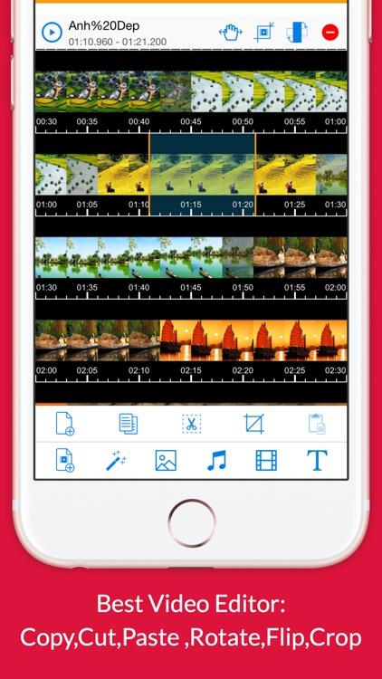 Video Editor Pro with Chromecast TV & Slide Maker