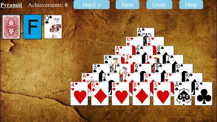 Pyramid Solitaire - Free screenshot-4
