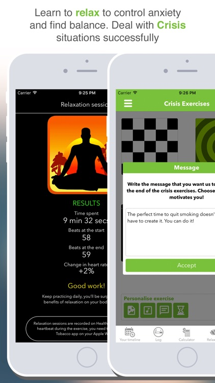 Stop Tobacco Mobile Trainer Pro. Quit Smoking App screenshot-4