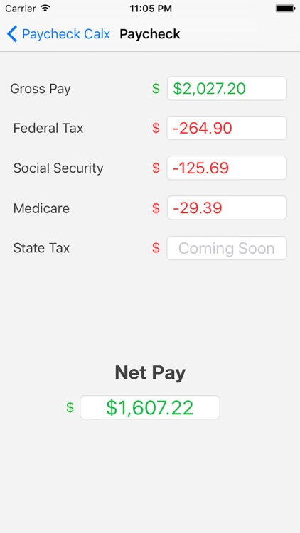 Easy Calx: Discounts, Tips, Loans & Paycheck screenshot-4