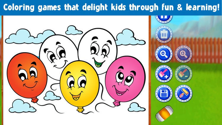 Kids Coloring Book! Draw, Color & Paint Sparkles screenshot-4