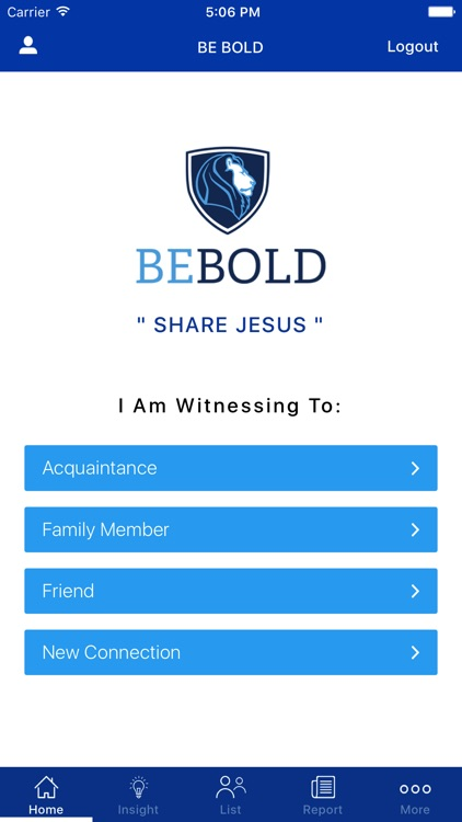 Be Bold For Jesus