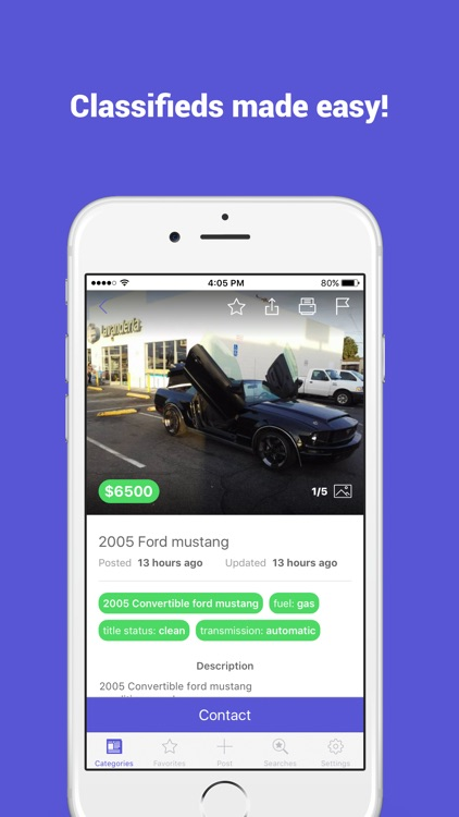 Buy and Sell: Classifieds, Free Stuff, Jobs & More app image