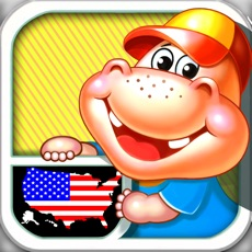 Activities of Fifty States and Capitals Learning Games for Kids