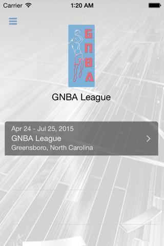 GNBA League - náhled