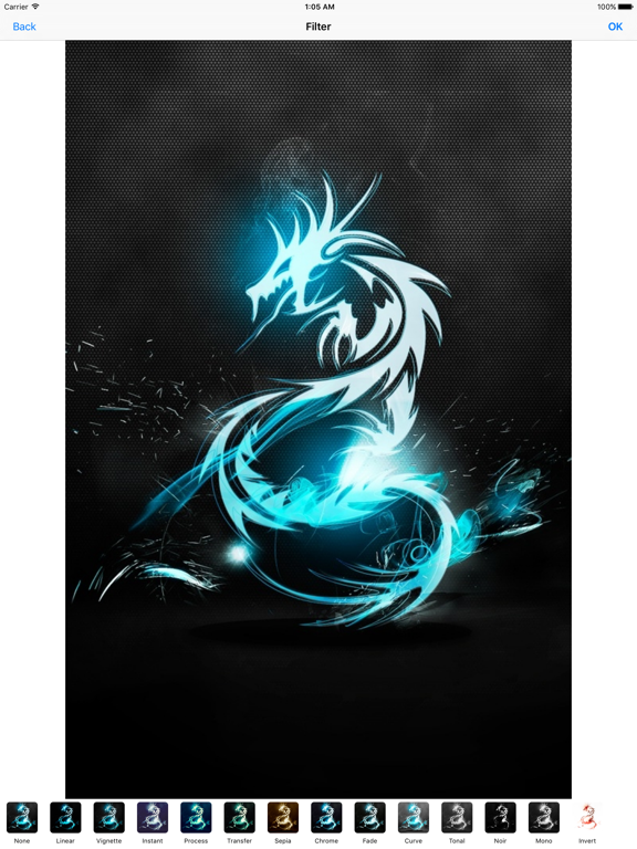 Dragon Wallpapers Wallpaper Editor With Stickers Ios Application