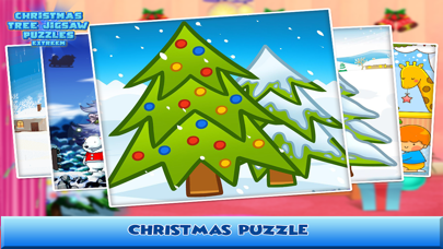 Christmas Tree Jigsaw Puzzles Extreme screenshot three