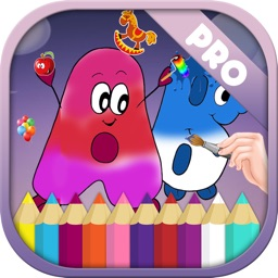 Kids Coloring Book For Alphabets Pro