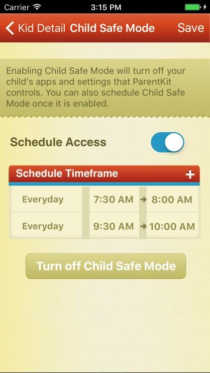 ParentKit - Parental Controls for iOS screenshot-3