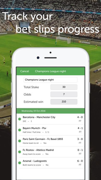 Bets Keeper - betting slips, tips and predictions screenshot-2