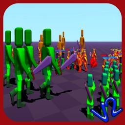 Doodle Fight Crazy War V2 Battle Simulator free
